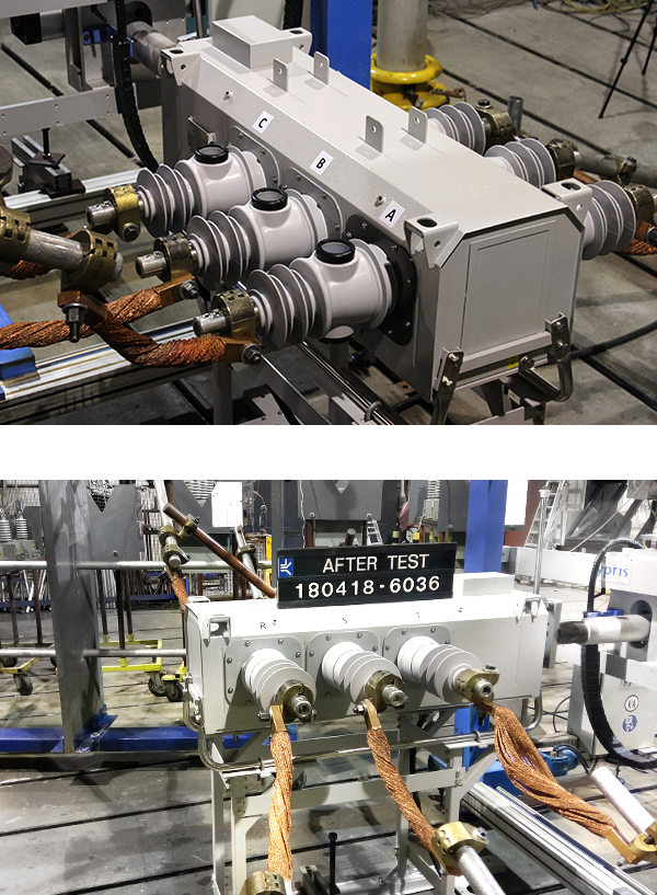 NOJA Power VISI-SWITCH® Type Tested at the KEMA Laboratory