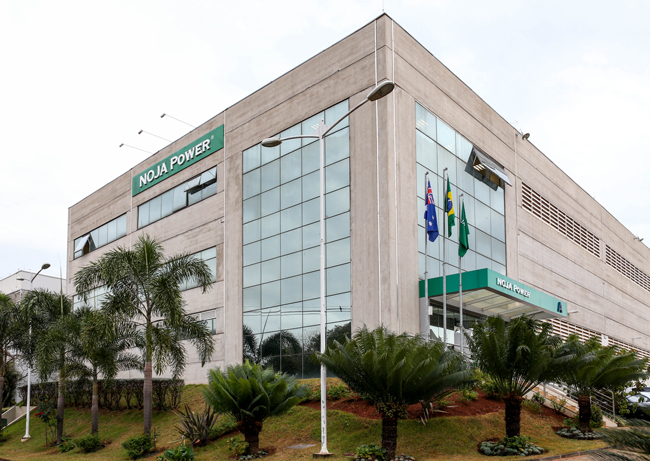 The New Factory and Offices of NOJA Power Brazil.