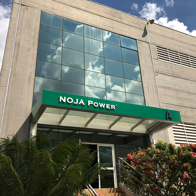 Grand Entrance to new NOJA Power Brazil facility