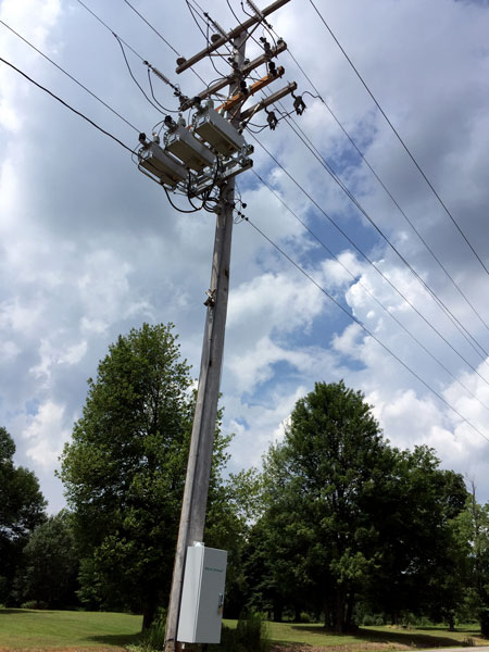 NOJA Power OSM Recloser system in OH, USA