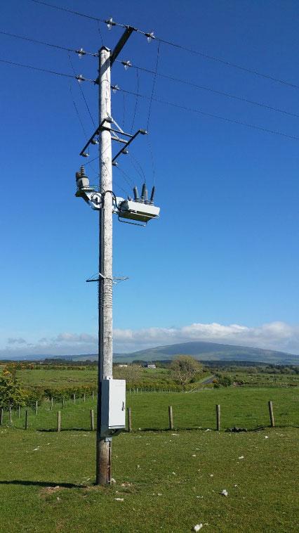 Ballycastle NOJA Power OSM Recloser Installation, Northern Ireland