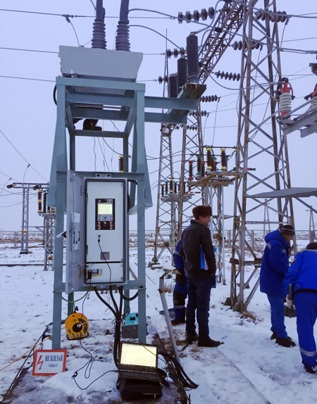 NOJA Power recloser integrated into the substation control system