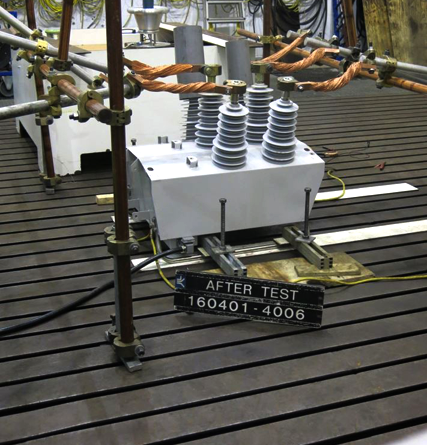 NOJA Power OSM38 recloser type tested at 16kA in KEMA's Netherlands facility