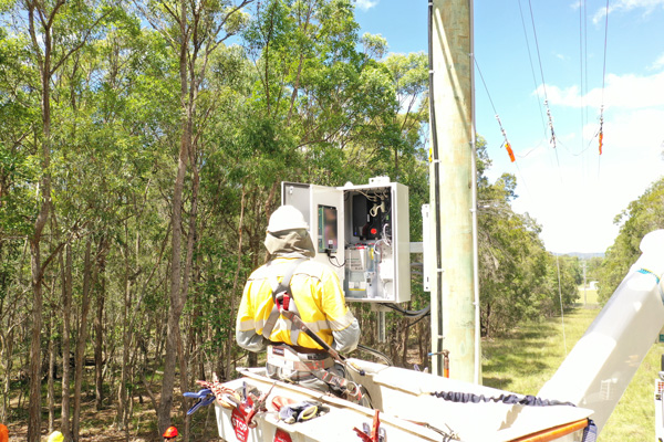 NOJA Power 2020, a NOJA Power RC20 control cubicle under installation in Queensland Australia