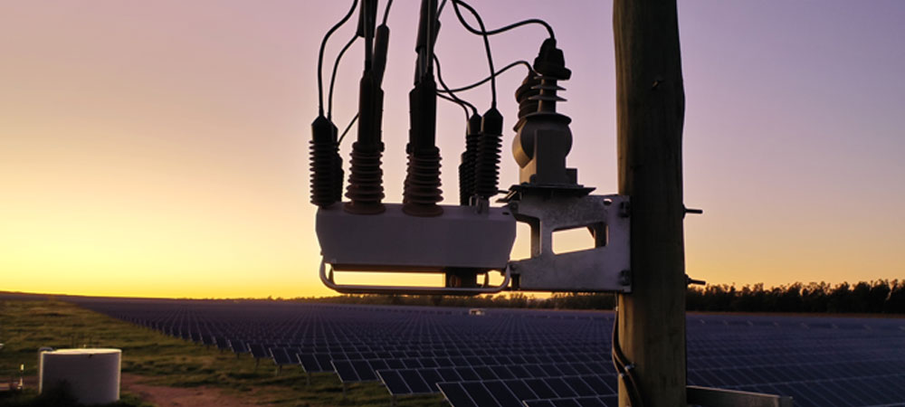 NOJA Power OSM Recloser installation in outback Australia