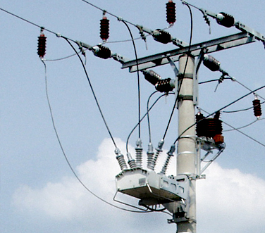 NOJA Power OSM Recloser in service