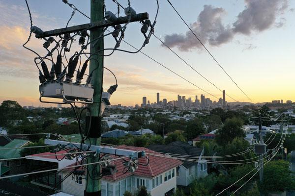 NOJA Power OSM Recloser installed in Brisbane Australia
