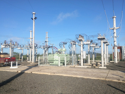 NOJA Power OSM Reclosers used in an Argentinian Substation