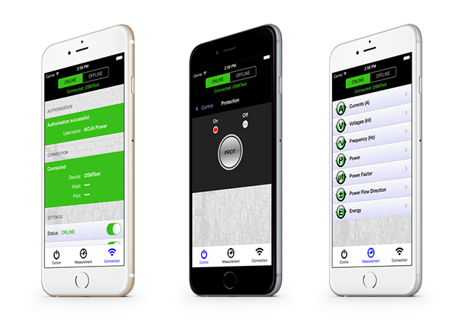 NOJA Power Mobile Recloser App