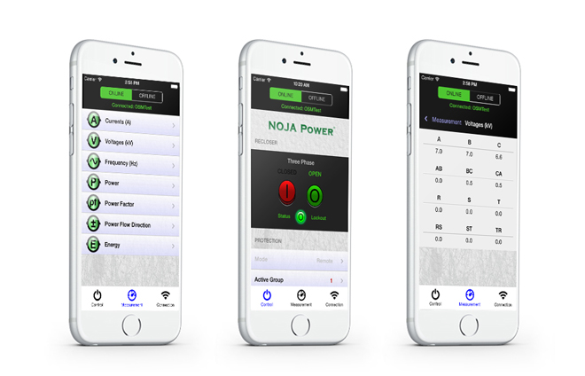 NOJA Power Recloser App
