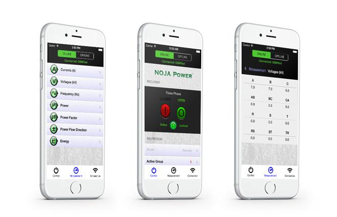 NOJA Power Recloser App