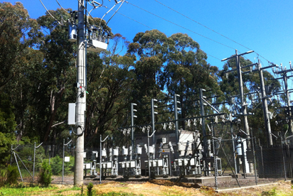 NOJA Power OSM38 ACR on site at Melbourne Water's Thomson Reservoir