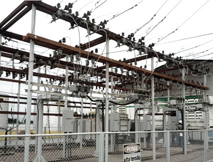 NOJA Power's recloser installation at an Eletrobras substation