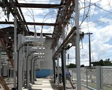NOJA Power's recloser installation at an Eletrobras substation