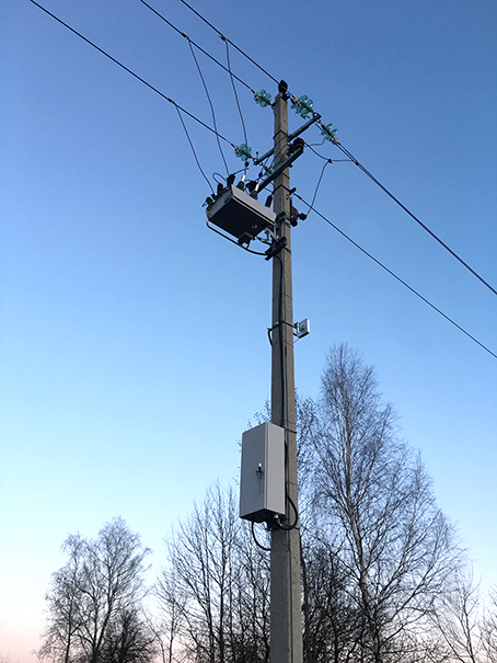 NOJA Power OSM Recloser Installation