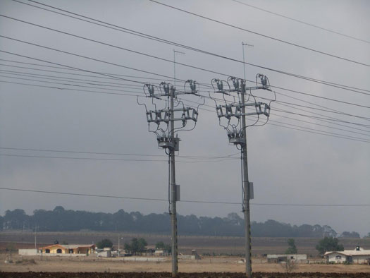 NOJA Power OSM reclosers installed in harsh environmental conditions