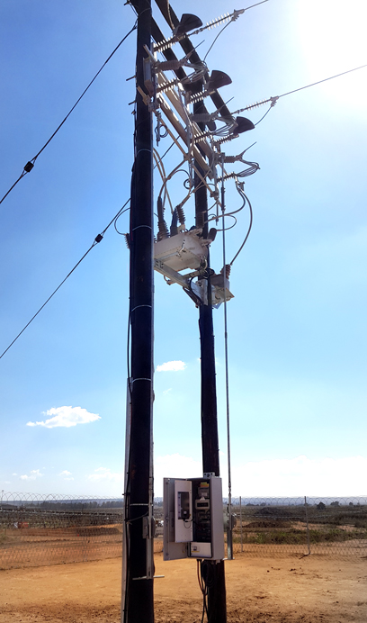 NOJA Power OSM Recloser Installation in South Africa