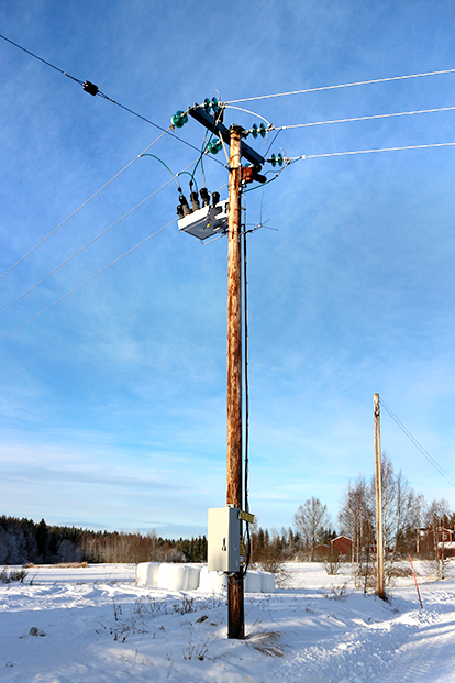 NOJA Power OSM Recloser Installation in Sweden