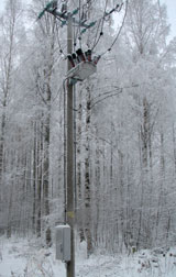 OSM27 installation in Sysmä Finland, remotely controlled using GSM communications