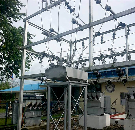 NOJA Power OSM Recloser island installation in the Philippines