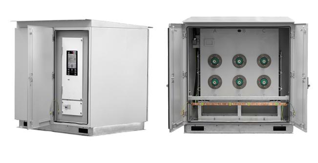 NOJA Power 27kV Compact Ground Mount Kiosk (GMK) Recloser