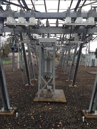 NOJA Power OSM Recloser Substation Mounting Arrangement