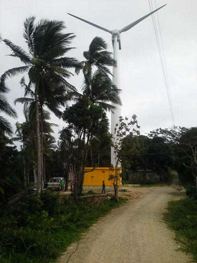 The 300kW Wind Turbine in Romblon, Philippines